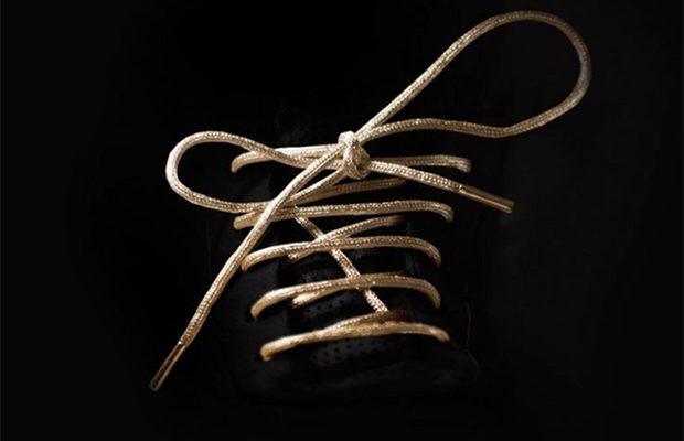 золотые шнурки